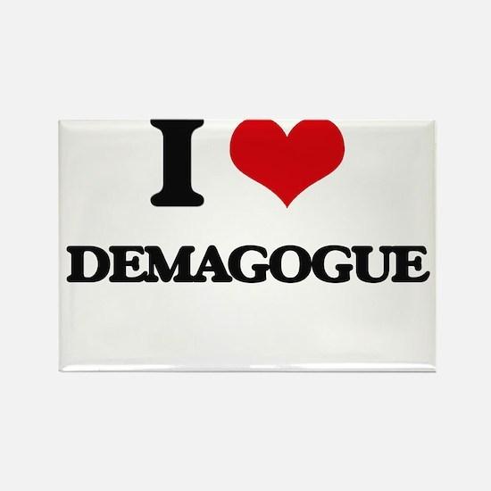 I Love Demagogue Magnets