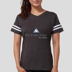 Phi Sigma Sigma Logo Womens Football Shirt