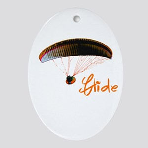Glide Ornament (Oval)