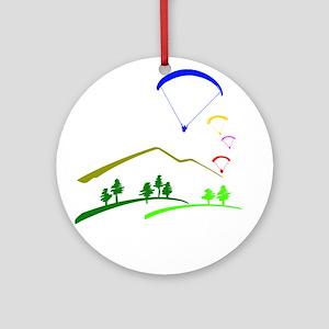 Paraglide Colour Ornament (Round)