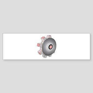 Cog Gear Bumper Sticker