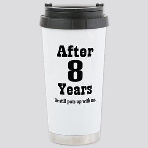8th Anniversary Funny Quote Mugs