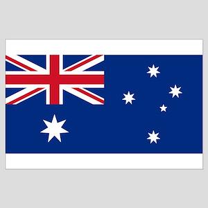 Australia flag Large Poster