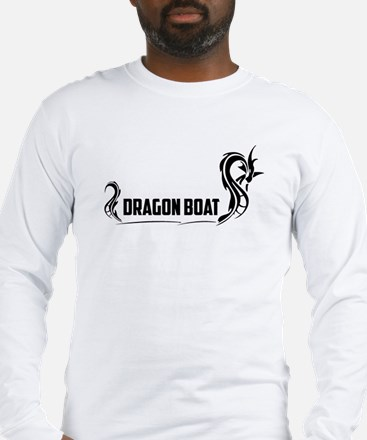 Cute Dragon boat paddling Long Sleeve T-Shirt