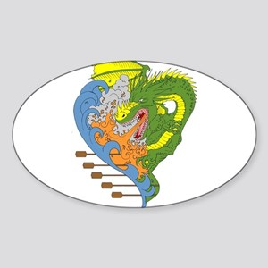 Dragon boat 9 Sticker