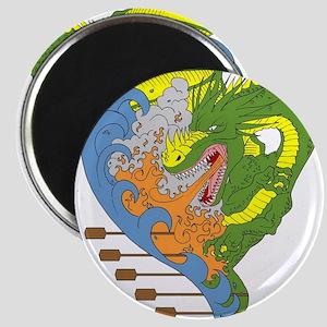 Dragon boat 9 Magnets