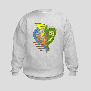 Dragon boat 9 Sweatshirt