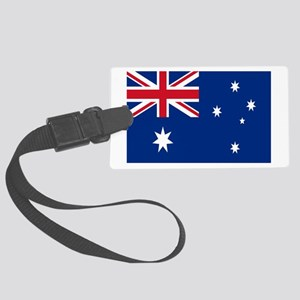 Australia flag Large Luggage Tag