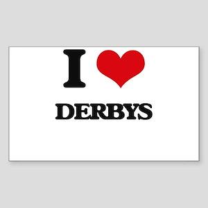 I Love Derbys Sticker