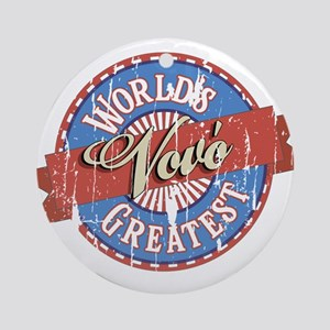 World's Greatest Vovó Ornament (Round)