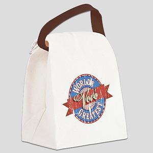 World's Greatest Vovó Canvas Lunch Bag