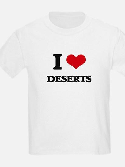 I Love Deserts T-Shirt