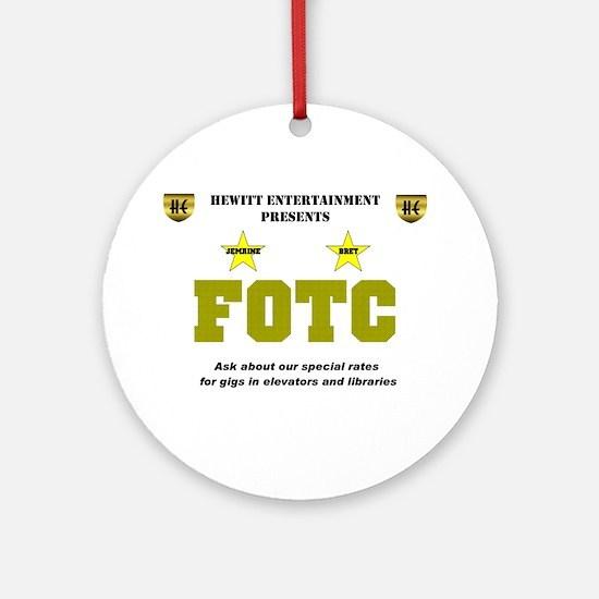 FOTC Ornament (Round)