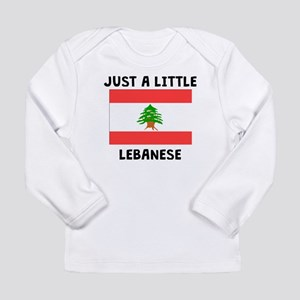 Just A Little Lebanese Long Sleeve T-Shirt