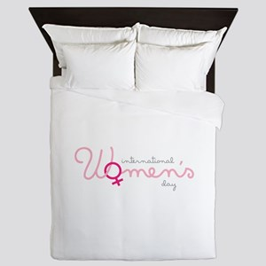 International Womens Day Queen Duvet