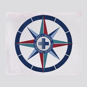 Grey Sloan Memorial Hospital Compass Throw Blanket