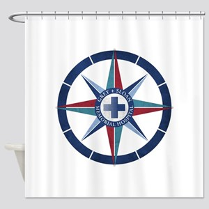 Grey Sloan Memorial Hospital Compas Shower Curtain