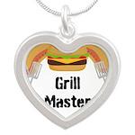 Grill Master Hamburgers Hot Dots Necklaces