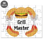 Grill Master Hamburgers Hot Dots Puzzle