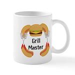 Grill Master Hamburgers Hot Dots Mugs