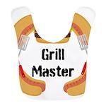 Grill Master Hamburgers Hot Dots Bib
