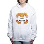 Grill Master Hamburgers Hot Dots Women's Hooded Sw