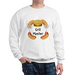 Grill Master Hamburgers Hot Dots Sweatshirt