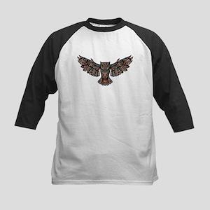 Metallic owl Baseball Jersey