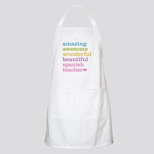 Spanish Teacher Apron