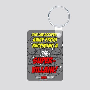 BIGBANG SUPER VILLAIN Aluminum Photo Keychain