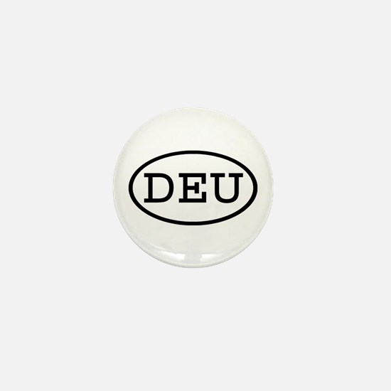 DEU Oval Mini Button
