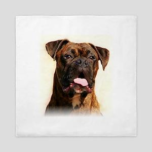 boxer dog Queen Duvet