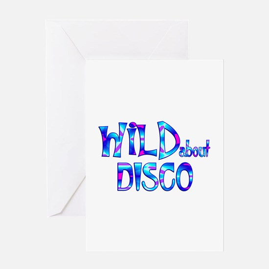 Wild About Disco Greeting Cards