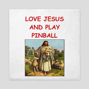 i love pinball Queen Duvet