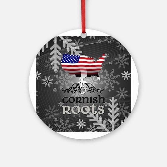 Cornish American Roots Ornament (Round)