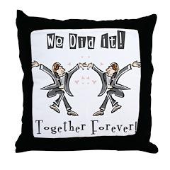 Gay Marriage Throw Pillow