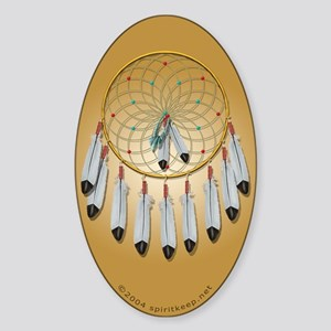 Dream Catcher #1 Oval Sticker