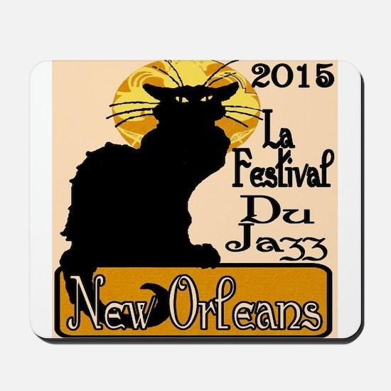 Jazz Fest Chat Mousepad