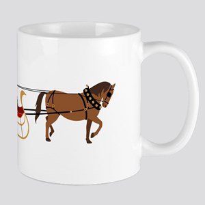 Winter Sleigh Mugs