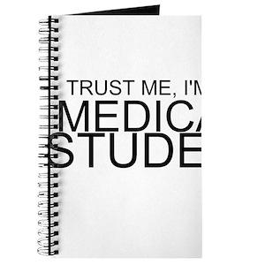 trust me im a nurse journal fun blank lined notebook
