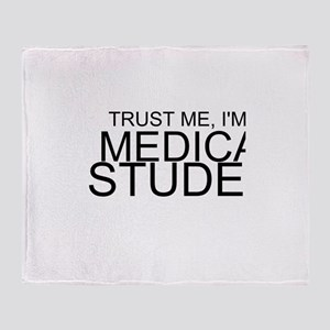 Trust Me, I'm A Medical Student Throw Blanket