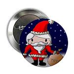 Cute Santa Button