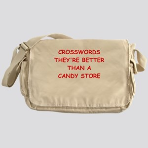 i love crosswods Messenger Bag