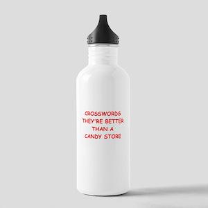 i love crosswods Water Bottle