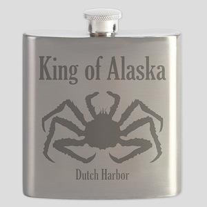 king of Alaska-1 Flask