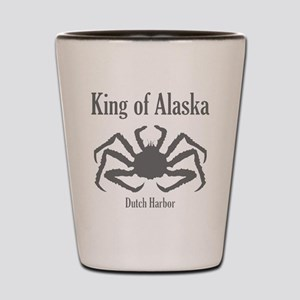 king of Alaska-1 Shot Glass