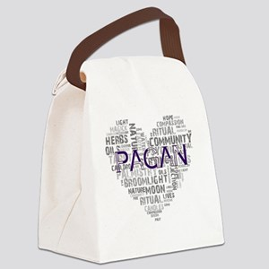 Reasons I Love Being Pagan Canvas Lunch Bag