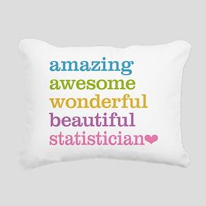 Statistician Rectangular Canvas Pillow