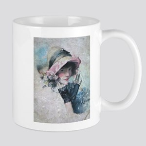 Rolf Armstrong Woman old illustration Mugs