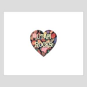 Utah Rocks! Small Poster
